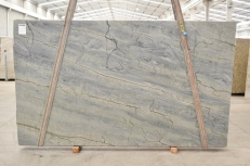 OCEAN BLUE Fourniture (Italie) d' dalles brillantes en quartzite naturel 2382 , Bnd #26296