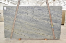 OCEAN BLUE Fourniture (Italie) d' dalles brillantes en quartzite naturel 2382 , Bnd #26298