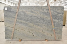 OCEAN BLUE Supply (Italy) polished slabs 2382 , Bnd #26301 natural quartzite
