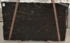 Fornitura lastre lucide 1.18 cm in granito naturale TITANIUM BQ01198. Dettaglio immagine fotografie