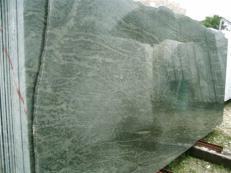 Fornitura lastre grezze lucide 2 cm in granito naturale TROPICAL GREEN MARITAKA EDM25123. Dettaglio immagine fotografie