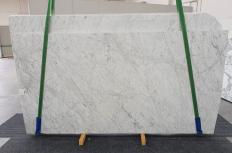 Fornitura lastre grezze levigate 2 cm in marmo naturale VENATINO BIANCO 1256. Dettaglio immagine fotografie