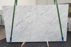 Fornitura lastre grezze lucide 3 cm in marmo naturale VENATINO BIANCO 1267. Dettaglio immagine fotografie