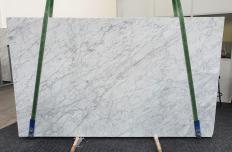 Fornitura lastre lucide 2 cm in marmo naturale VENATINO BIANCO 1267. Dettaglio immagine fotografie