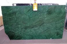 Fornitura lastre grezze lucide 2 cm in marmo naturale VERDE GUATEMALA AL0151. Dettaglio immagine fotografie