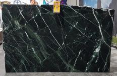 Fornitura lastre grezze lucide 2 cm in marmo naturale VERDE IMPERIALE UL0120. Dettaglio immagine fotografie
