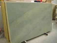 Fornitura lastre grezze lucide 2 cm in marmo naturale VERDE LAGUNA SR_060717. Dettaglio immagine fotografie
