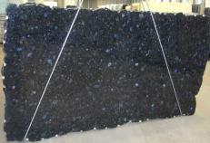Fornitura lastre grezze lucide 2 cm in labradorite naturale VOLGA BLUE CVVOBL25. Dettaglio immagine fotografie