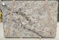 Fornitura lastre grezze lucide 2 cm in granito naturale WHITE WAVE BQ01435. Dettaglio immagine fotografie