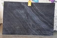 Fornitura lastre grezze lucide 2 cm in marmo naturale Zebra Black UL0079. Dettaglio immagine fotografie