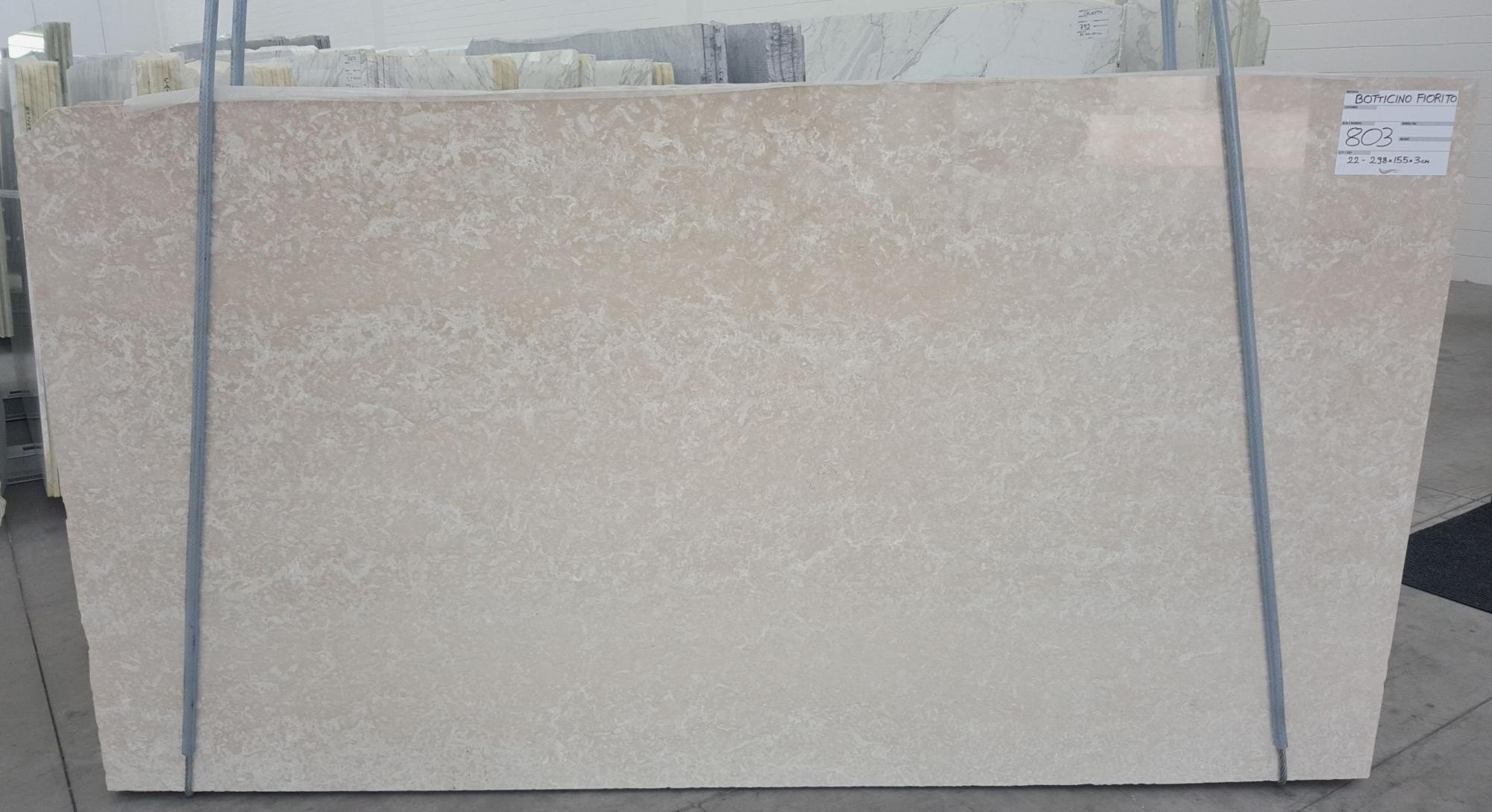 BOTTICINO FIORITO LIGHT Fornitura Verona (Italia) di lastre grezze lucide in marmo naturale 1149 , Bundle #1-2