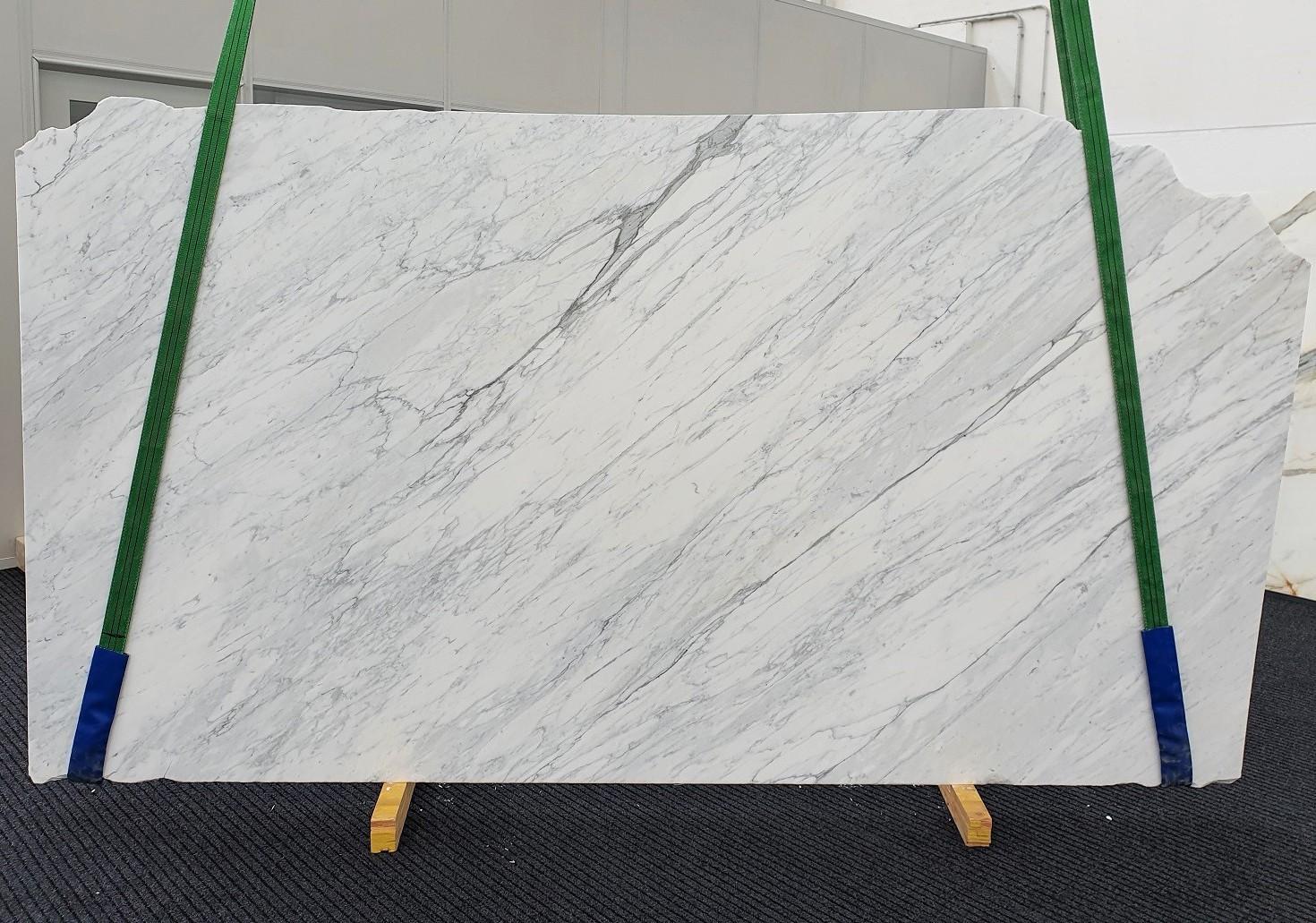 CALACATTA CARRARA Fornitura Veneto (Italia) di lastre grezze levigate in marmo naturale 1313 , Slab #01