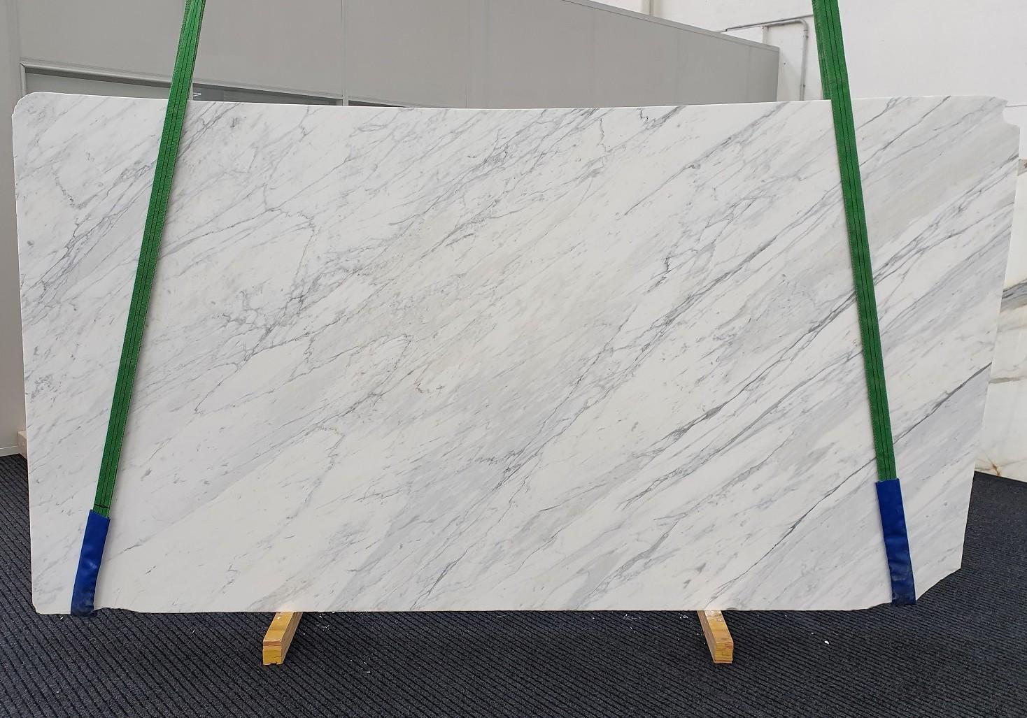 CALACATTA CARRARA Fornitura Veneto (Italia) di lastre grezze levigate in marmo naturale 1313 , Slab #11