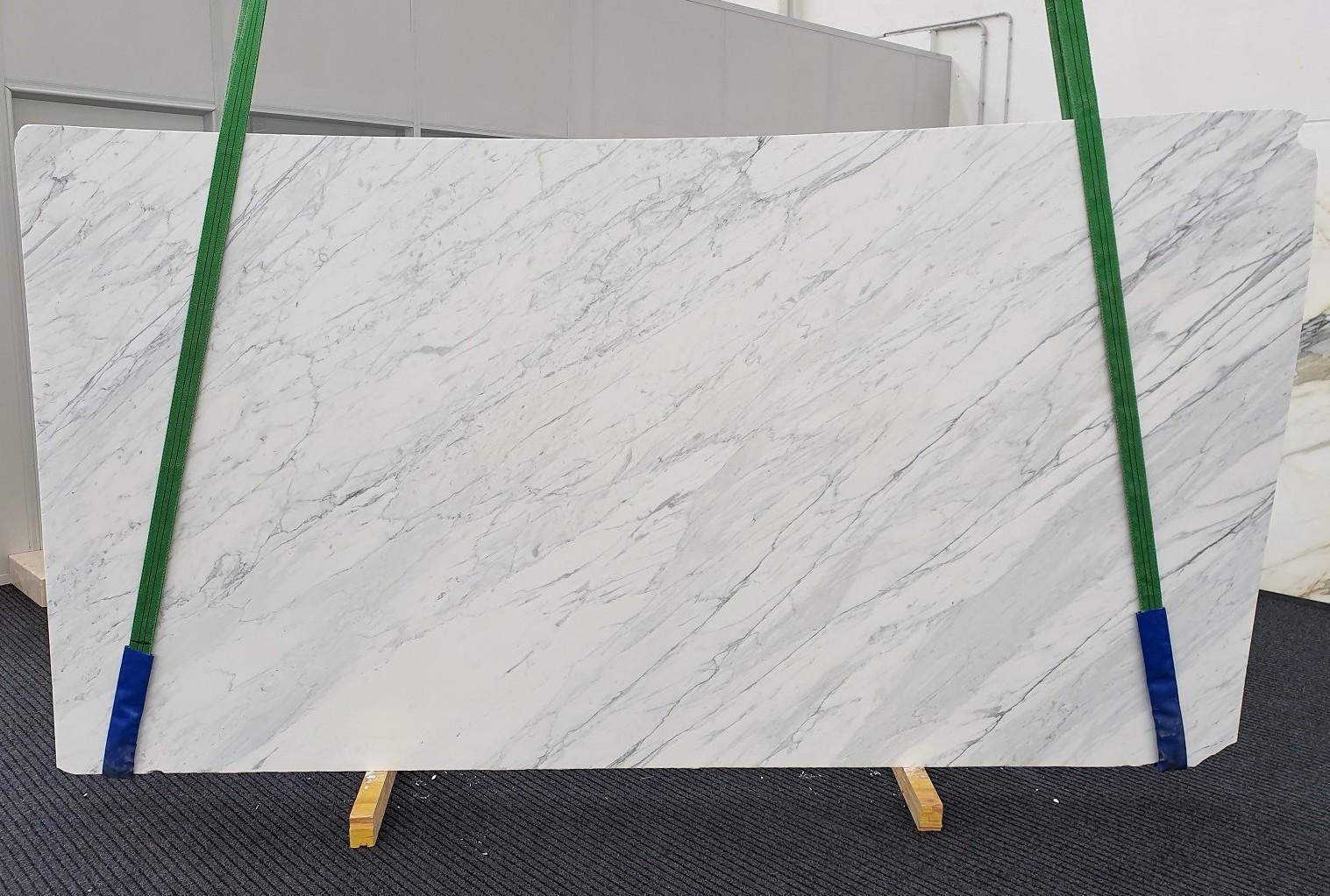 CALACATTA CARRARA Fornitura Veneto (Italia) di lastre grezze levigate in marmo naturale 1313 , Slab #19