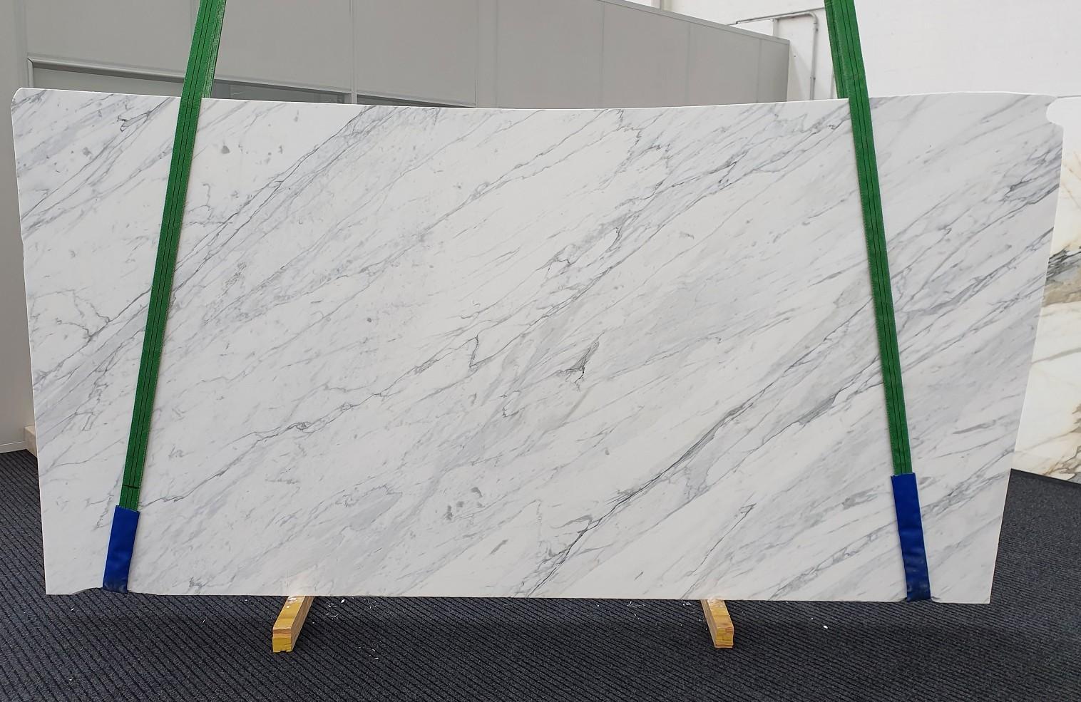 CALACATTA CARRARA Fornitura Veneto (Italia) di lastre grezze levigate in marmo naturale 1313 , Slab #35