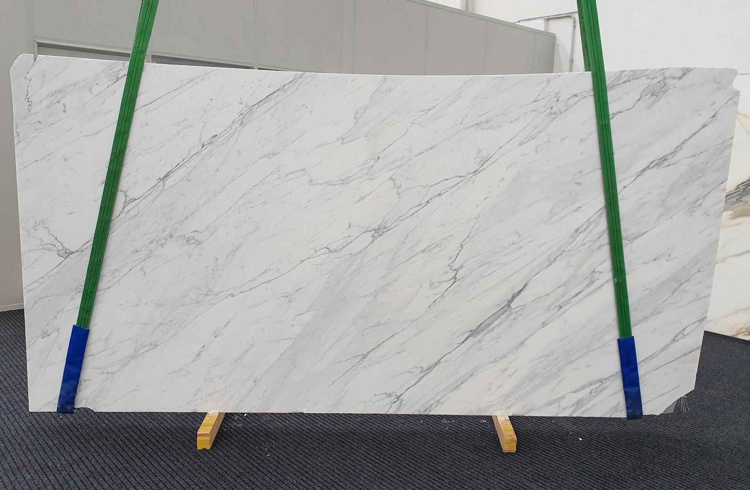 CALACATTA CARRARA Fornitura Veneto (Italia) di lastre grezze levigate in marmo naturale 1313 , Slab #43