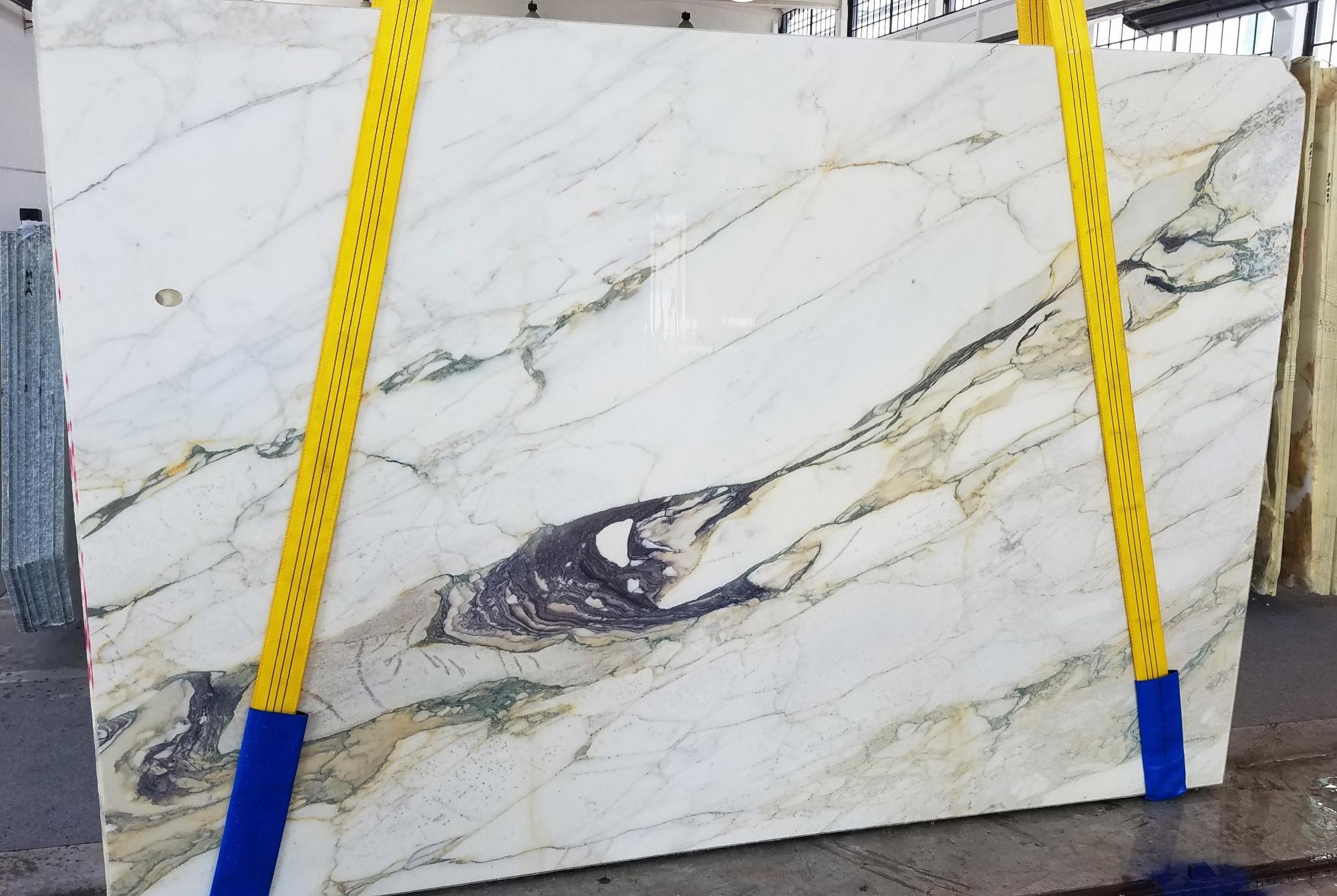 CALACATTA FIORITO Fornitura Veneto (Italia) di lastre grezze segate in marmo naturale U0433 , Slab #08