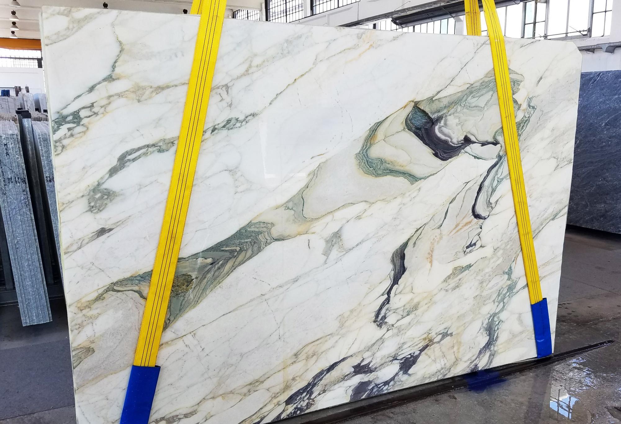 CALACATTA FIORITO Fornitura Veneto (Italia) di lastre grezze segate in marmo naturale U0433 , Slab #25