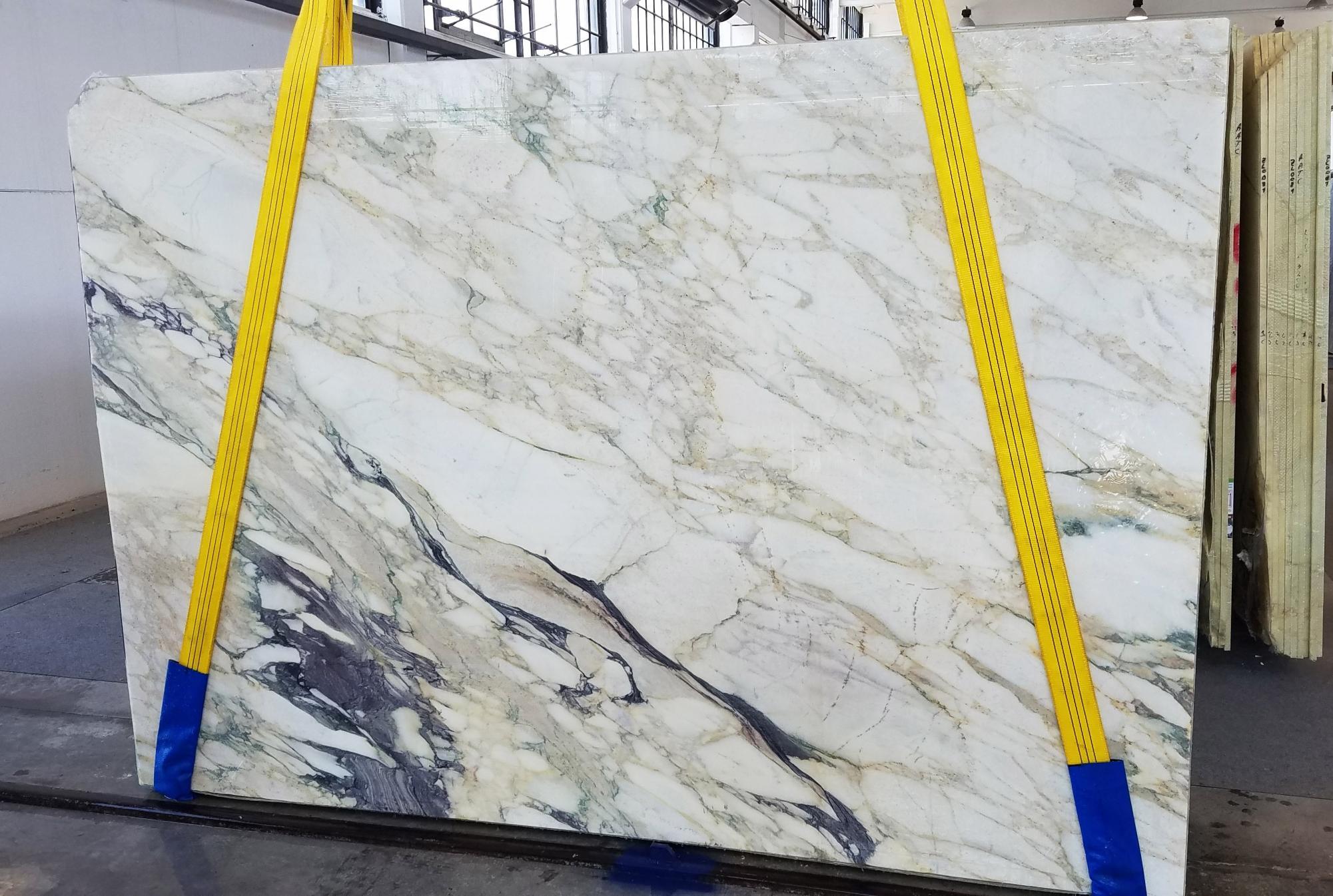 CALACATTA FIORITO Fornitura Veneto (Italia) di lastre grezze segate in marmo naturale U0433 , Slab #34