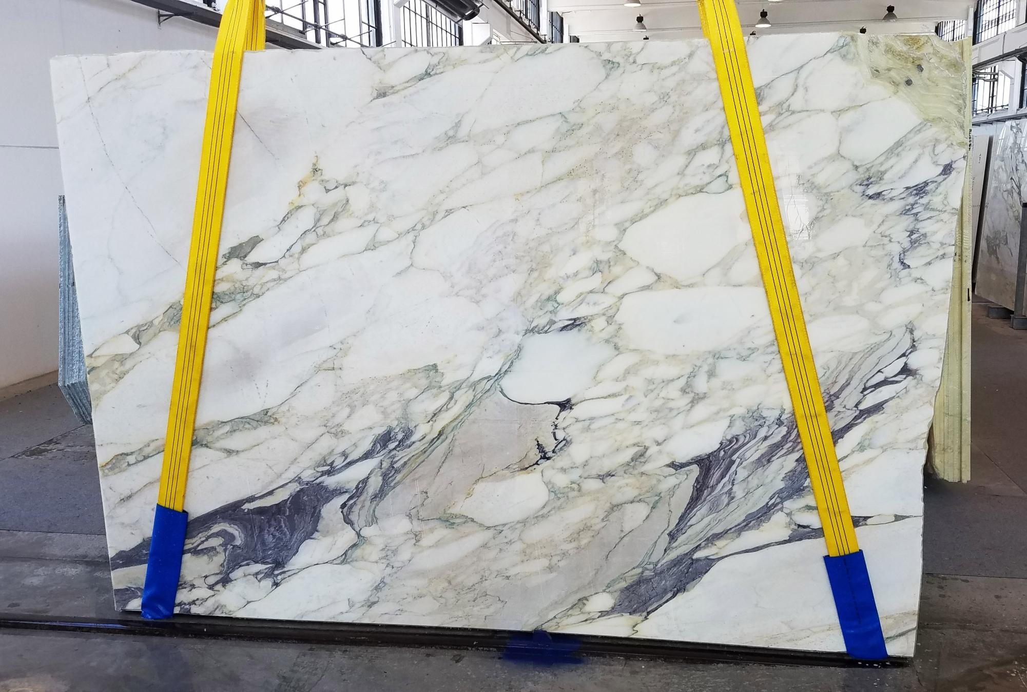 CALACATTA FIORITO Fornitura Veneto (Italia) di lastre grezze segate in marmo naturale U0433 , Slab #42