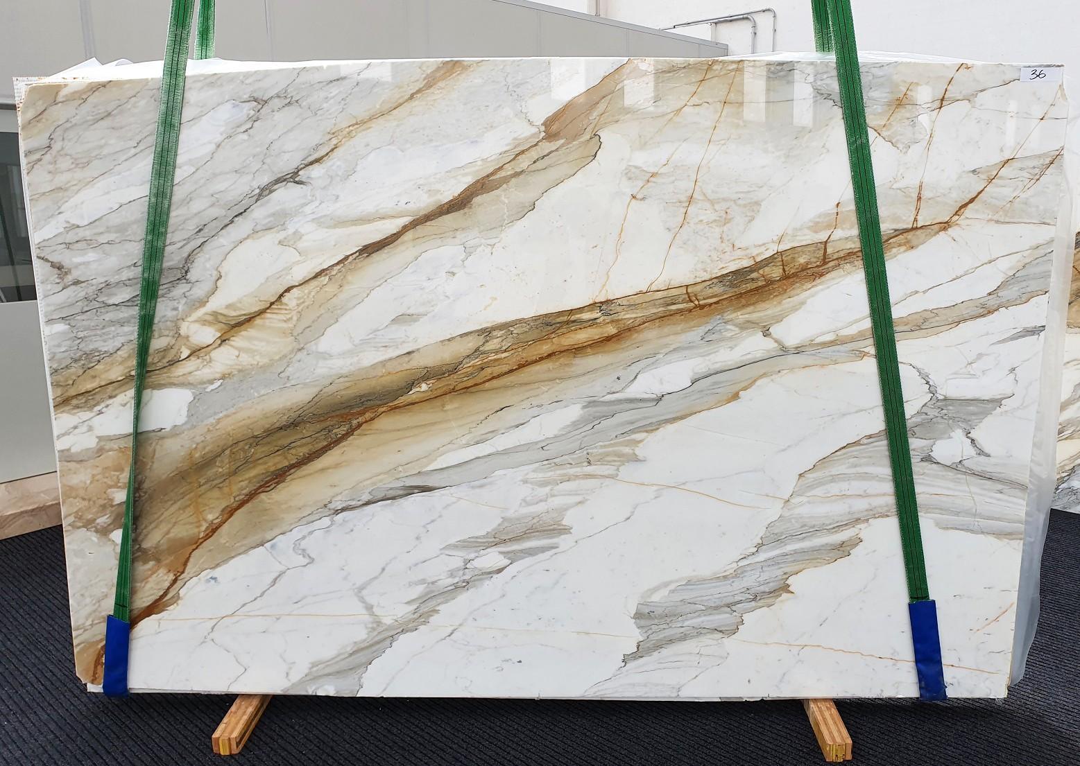 CALACATTA MACCHIAVECCHIA Fornitura Veneto (Italia) di lastre grezze lucide in marmo naturale 1354 , Slab #36