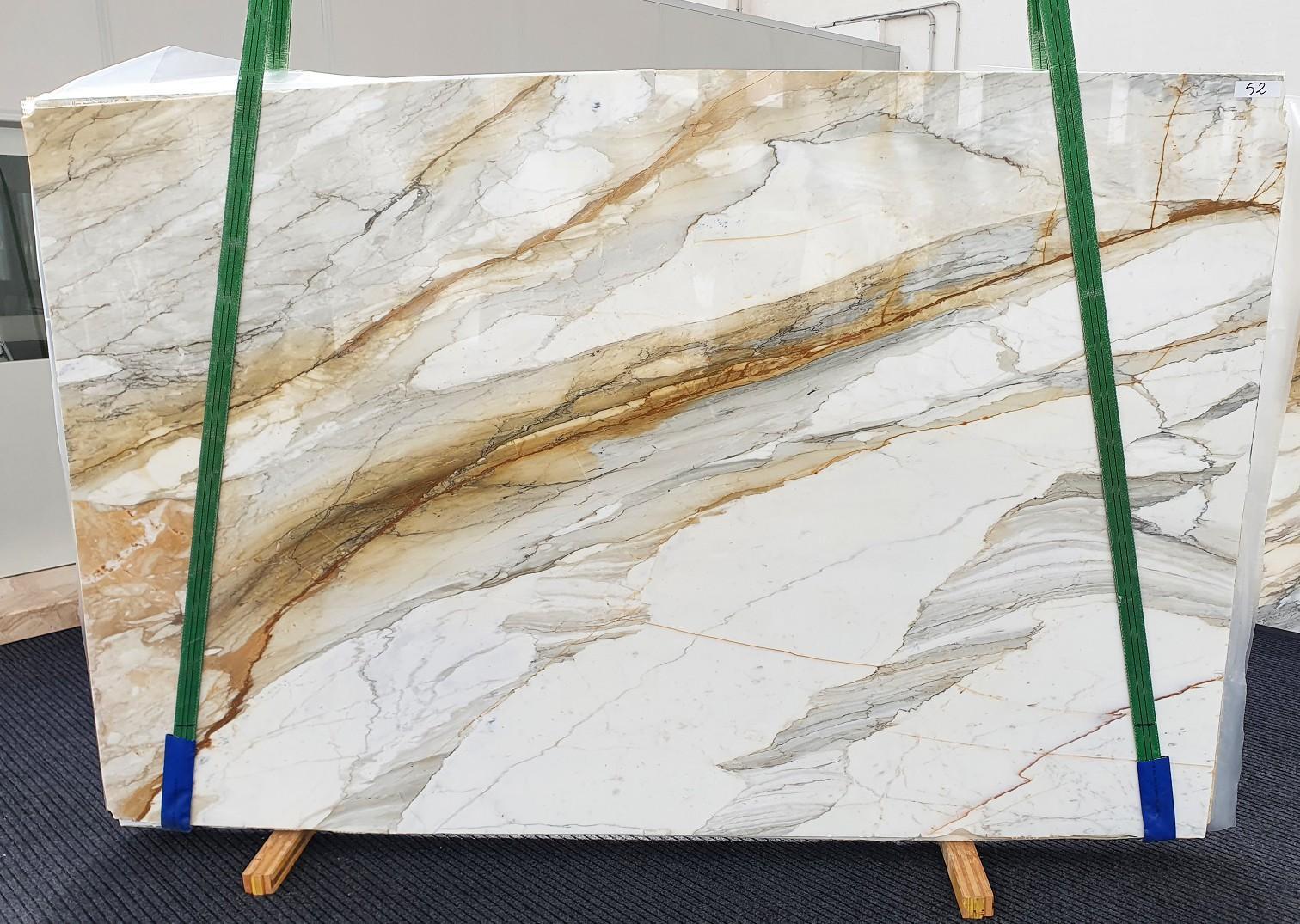 CALACATTA MACCHIAVECCHIA Fornitura Veneto (Italia) di lastre grezze lucide in marmo naturale 1354 , Slab #52