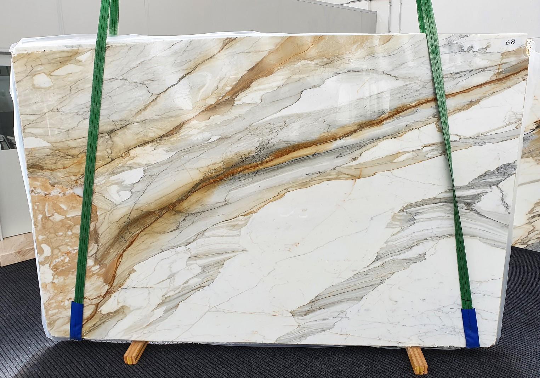 CALACATTA MACCHIAVECCHIA Fornitura Veneto (Italia) di lastre grezze lucide in marmo naturale 1354 , Slab #68