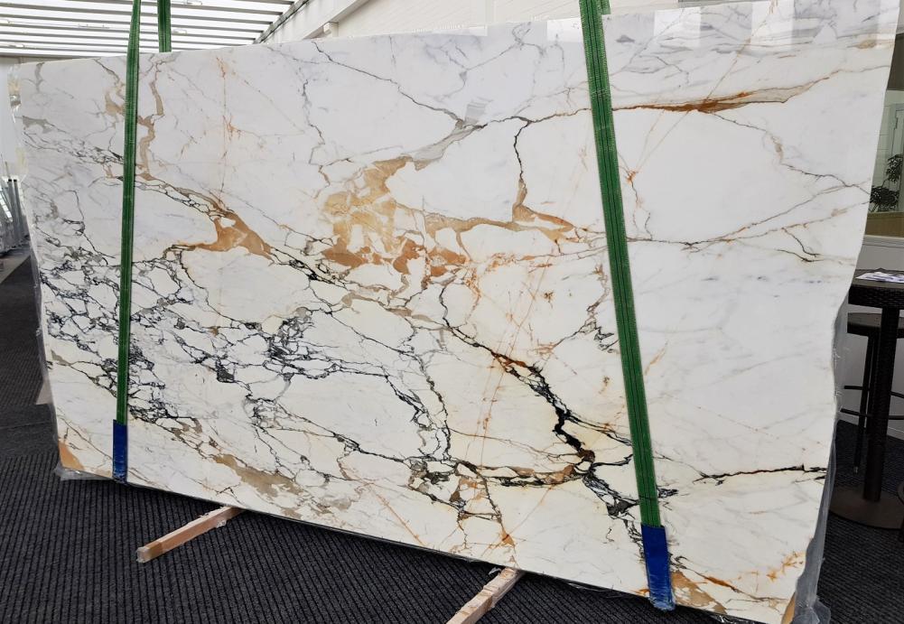 CALACATTA MACCHIAVECCHIA Fornitura Verona (Italia) di lastre grezze lucide in marmo naturale GL 1131 , Bundle #1