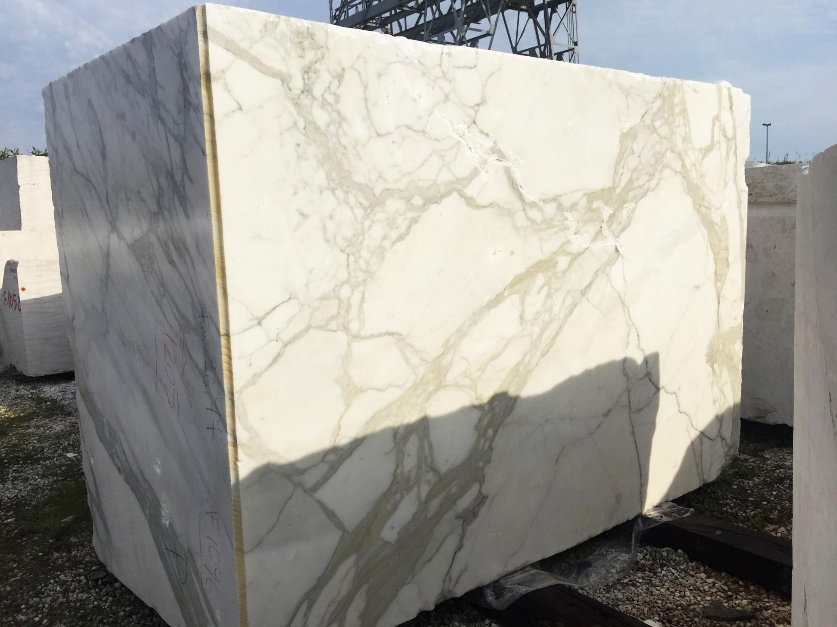 CALACATTA ORO EXTRA Fornitura Veneto (Italia) di blocchi grezzi in marmo naturale 2628 , Face B