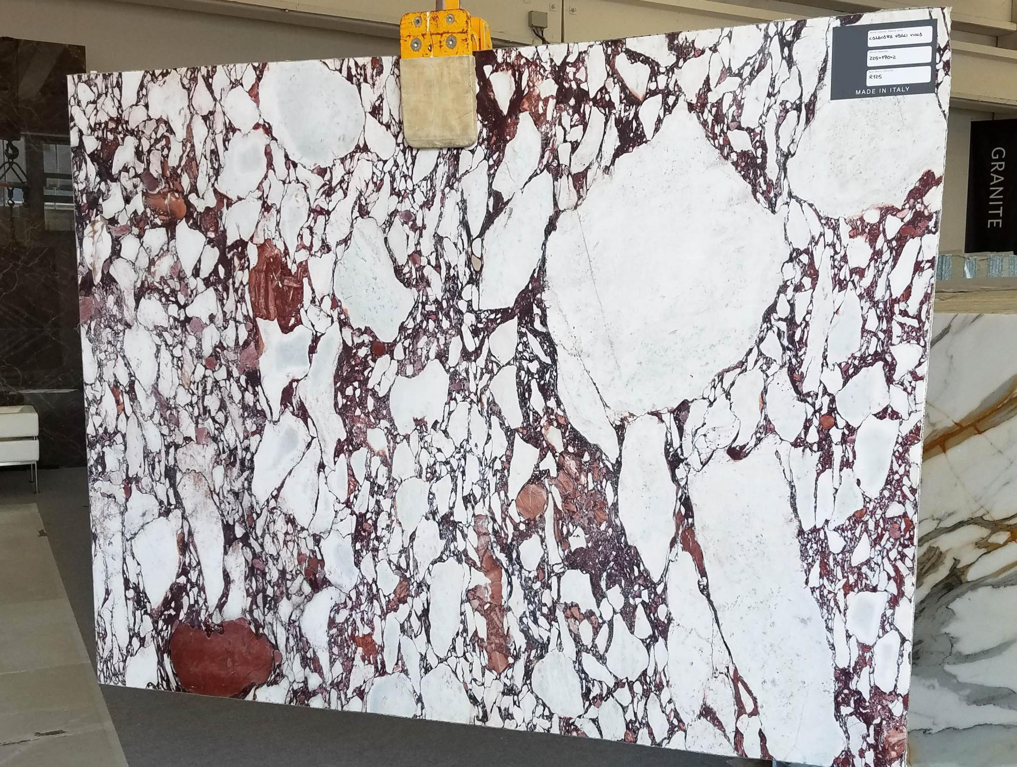 CALACATTA VAGLI ROSATO Fornitura Veneto (Italia) di lastre grezze lucide in marmo naturale AA R125 , Bundle #3