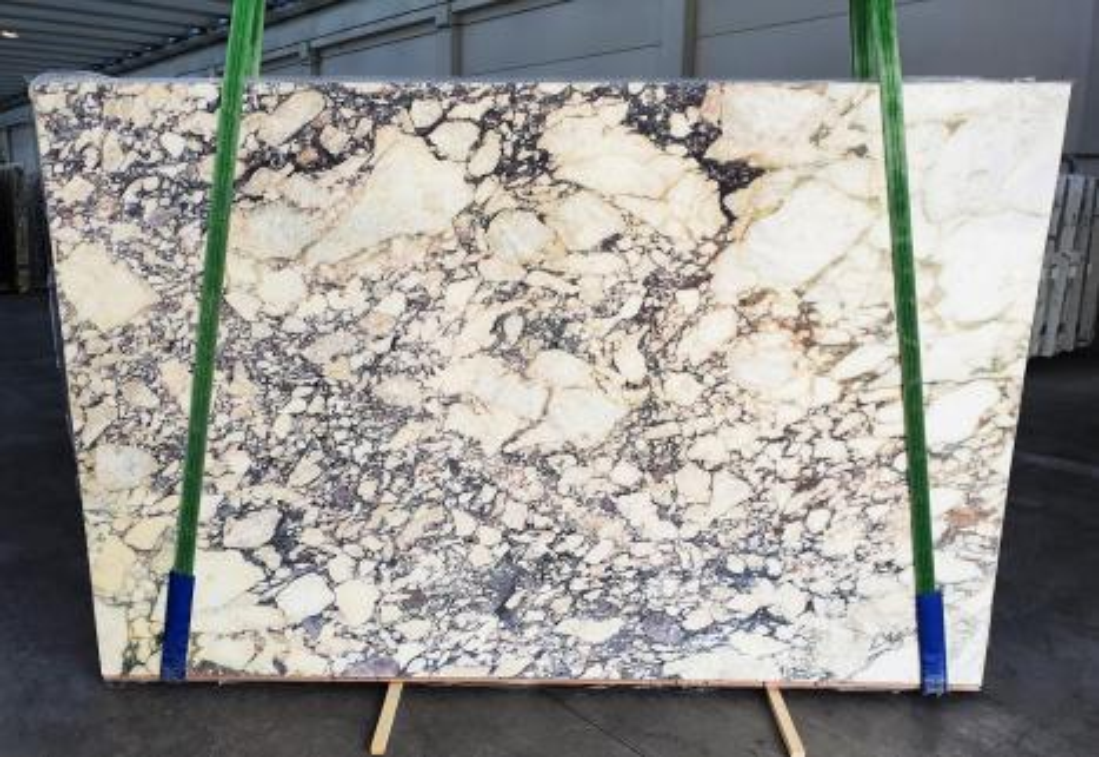 CALACATTA VIOLA Fornitura Veneto (Italia) di lastre grezze lucide in marmo naturale 1291 , Slab #34