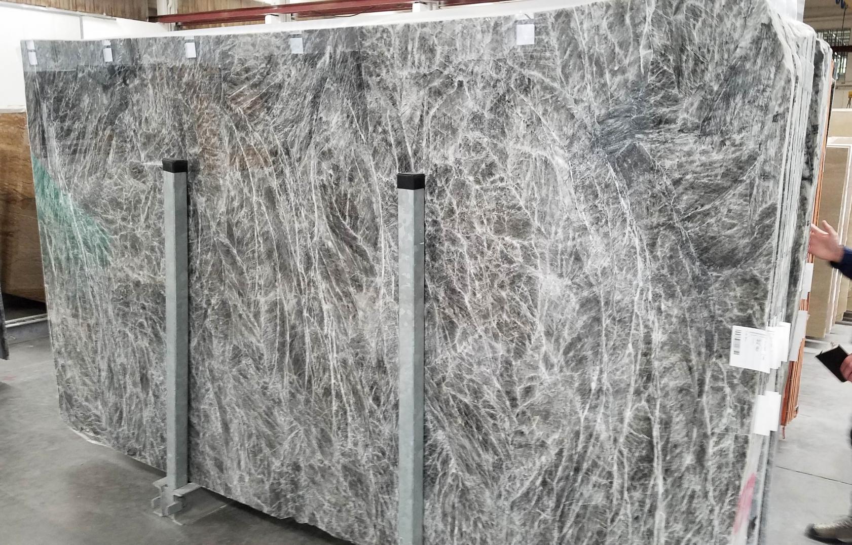 DIAMOND GREY Fornitura Verona (Italia) di lastre lucide in marmo naturale 1491M , Bundle #2