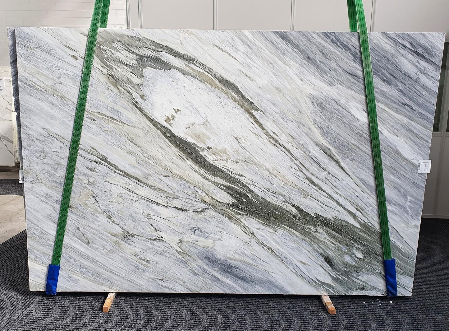 Manhattan Grey Fornitura Veneto (Italia) di lastre grezze lucide in marmo naturale 1357 , Slab #34