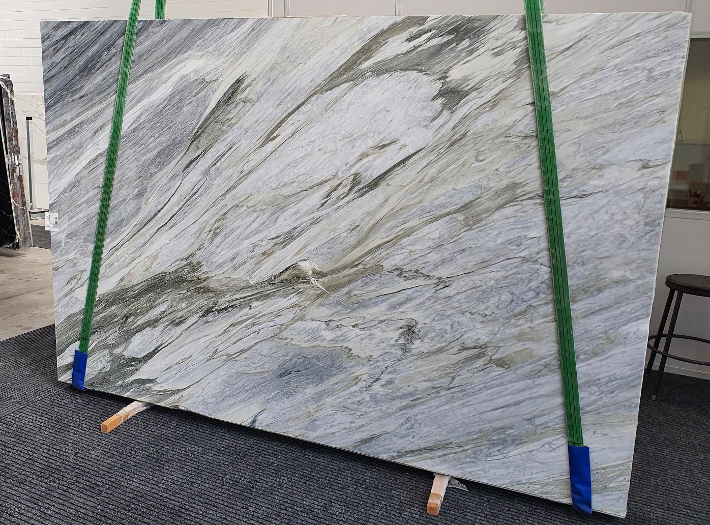 Manhattan Grey Fornitura Veneto (Italia) di lastre grezze lucide in marmo naturale 1357 , Slab #43