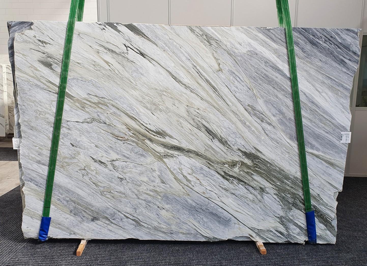 Manhattan Grey Fornitura Veneto (Italia) di lastre grezze lucide in marmo naturale 1357 , Slab #52