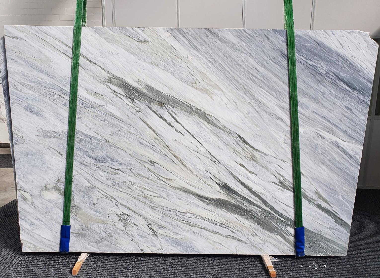 MANHATTAN GREY Fornitura Veneto (Italia) di lastre grezze levigate in marmo naturale 1357 , Slab #08