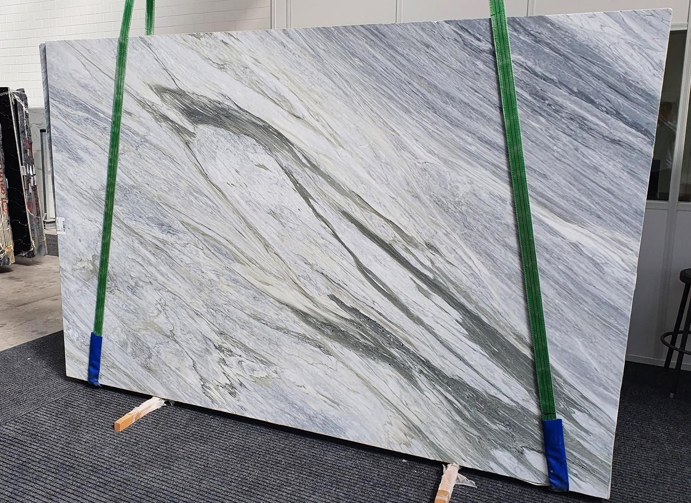 MANHATTAN GREY Fornitura Veneto (Italia) di lastre grezze levigate in marmo naturale 1357 , Slab #16