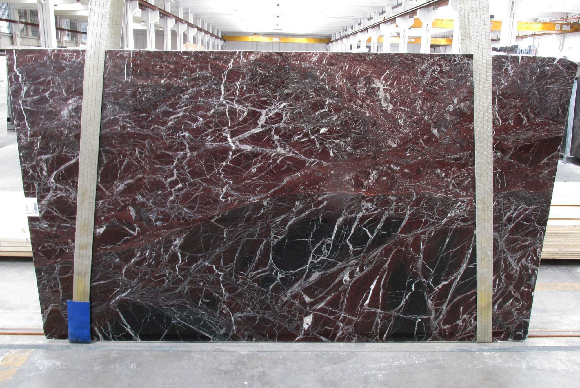 ROSSO LEVANTO Fornitura Veneto (Italia) di lastre grezze lucide in marmo naturale 1712M , Slab #20