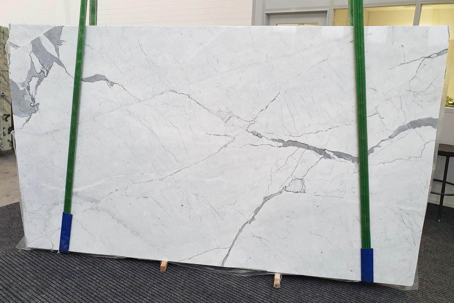 STATUARIETTO Fornitura (Italia) di lastre grezze lucide in marmo naturale 1290 , Slab #37