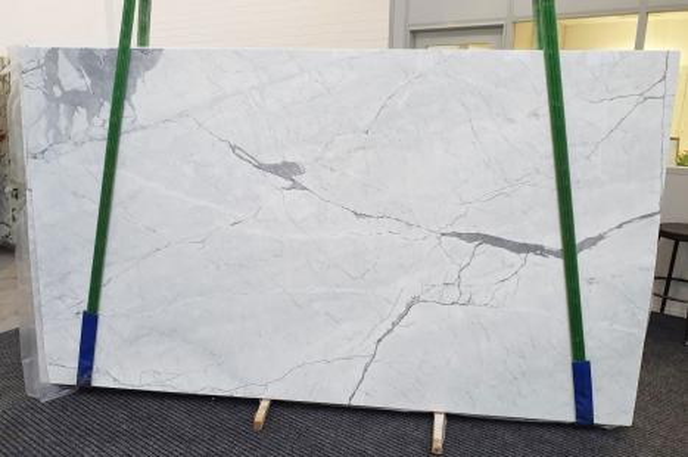 STATUARIETTO Fornitura Veneto (Italia) di lastre grezze lucide in marmo naturale 1290 , Slab #29