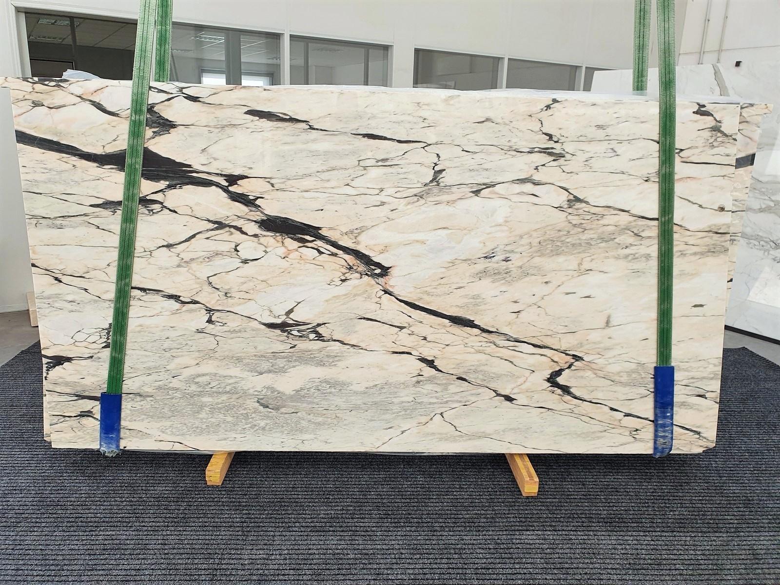STATUARIO CORAL Fornitura Veneto (Italia) di lastre grezze lucide in marmo naturale 1328 , Bundle #02