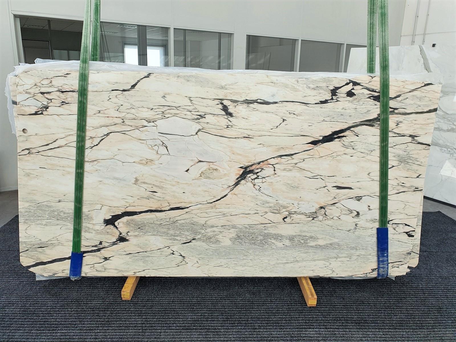 STATUARIO CORAL Fornitura Veneto (Italia) di lastre grezze lucide in marmo naturale 1328 , Bundle #01