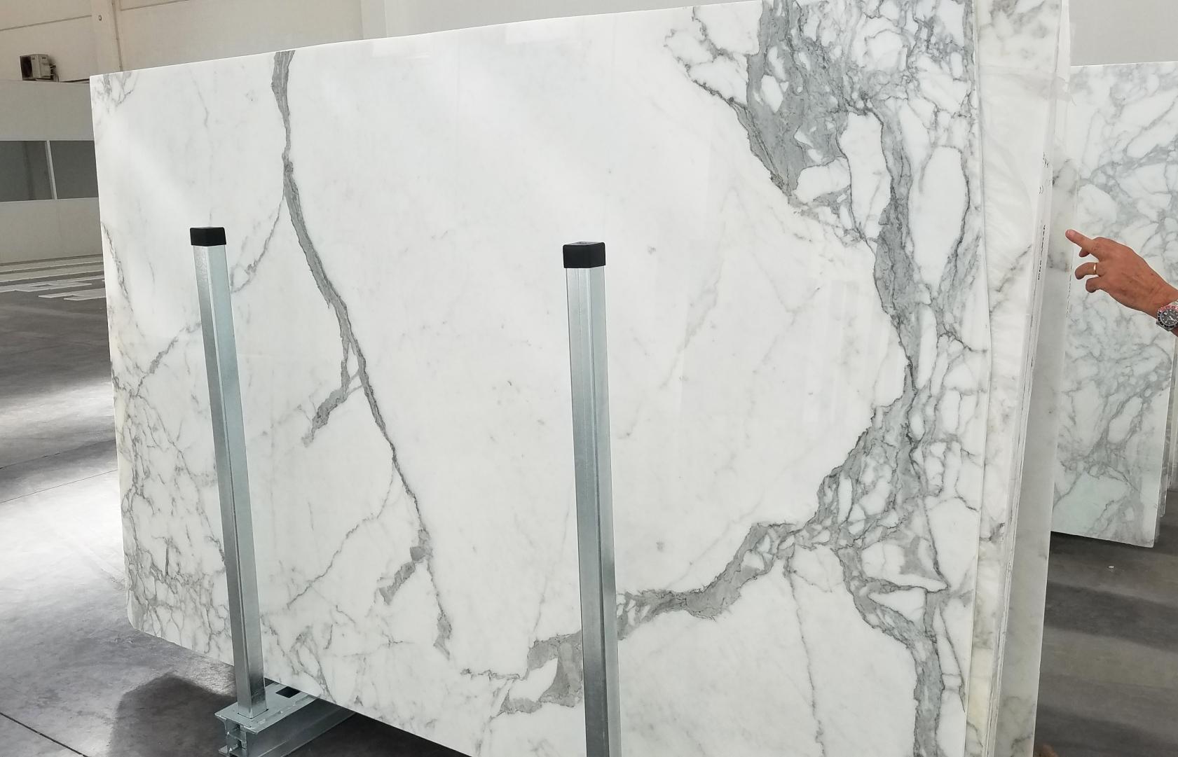 STATUARIO VENATO Fornitura Veneto (Italia) di lastre grezze lucide in marmo naturale 1225 , Bundle #5