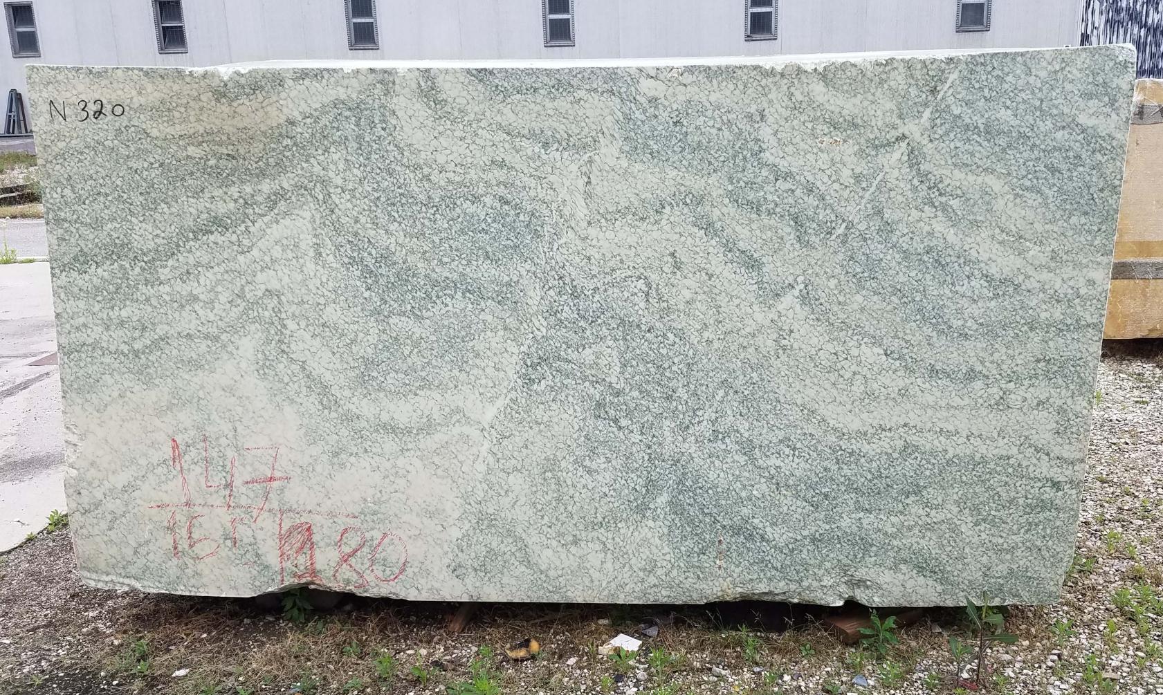 Vert d'Estours Fornitura Veneto (Italia) di blocchi grezzi in marmo naturale N320 , Face A