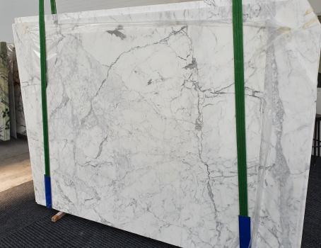 STATUARIO CLASSICOlastra grezza marmo italiano lucido Slab 51,  260 x 180 x 2 cm pietra naturale (venduta in Veneto, Italia)