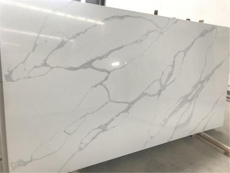 POMPEIlastra grezza quarzo vietnamita lucido SL3CM,  320 x 160 x 3 cm pietra agglomerato artificiale (disponibile in Hai Phong, Vietnam)