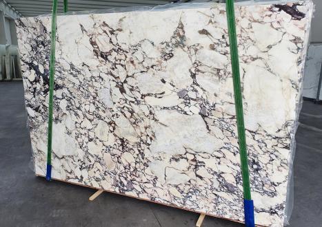 CALACATTA VIOLAlastra grezza marmo italiano lucido Slab #01-3,  299 x 190 x 3 cm pietra naturale (venduta in Veneto, Italia)