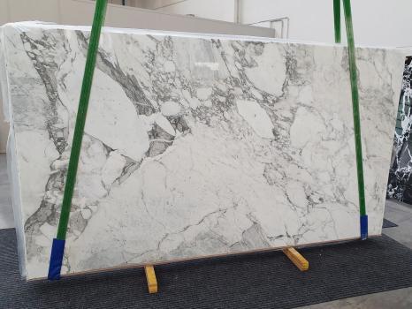 CALACATTA VAGLIlastra grezza marmo italiano lucido Slab #32,  315 x 177 x 2 cm pietra naturale (venduta in Veneto, Italia)