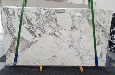 CALACATTA VAGLIlastra grezza marmo italiano lucido Slab #24,  315 x 177 x 2 cm pietra naturale (disponibile in Veneto, Italia)