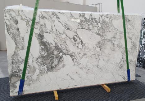 CALACATTA VAGLIlastra grezza marmo italiano lucido Slab #08,  315 x 177 x 2 cm pietra naturale (disponibile in Veneto, Italia)